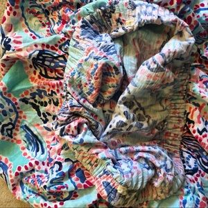 Lilly Pulitzer Tops - Lilly Pultizer Multi Shell Me About It Tube Top